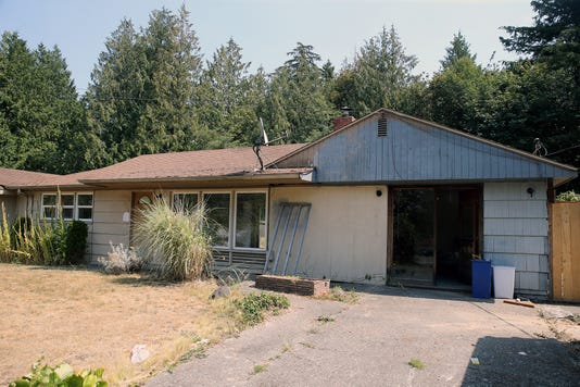A Derelict Home On Lyle Avenue In The Kitsap Lake Neighborhood City Of Bremerton Will Attempt To Take Control So Called Zombie Properties