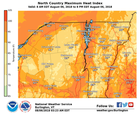Bur20180806 Heat Wave Map