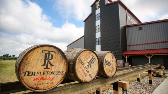 Templeton Rye is opening their new $35 million distillery in Templeton, Iowa, shown here Monday, Aug. 6, 2018, featuring a museum and visitor's center.