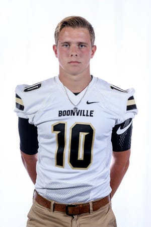 Boonville junior quarterback Jackson Phillips is set to return from a knee injury suffered in the season opener last year.