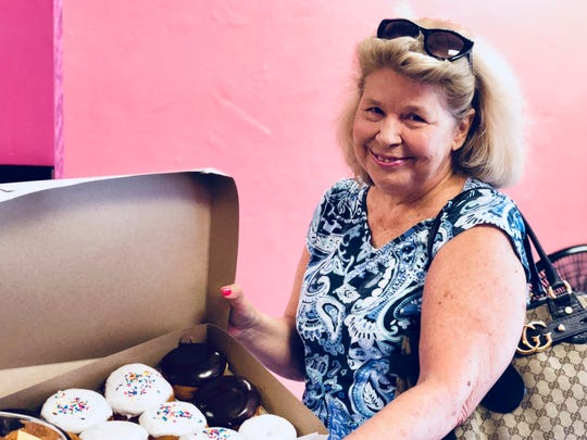 Cindy Gigliotti, a Cape resident, drove out to Nuts 4 Donuts on a Saturday morning. The pickings were slim, but she was able to bring home a dozen doughnuts.
