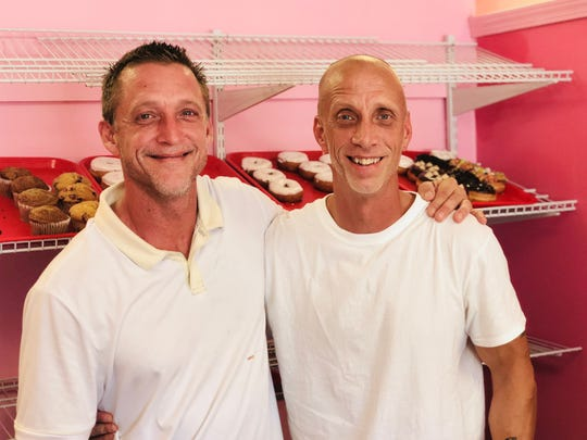 Owner Larry Werdeniuk, right, owns and operates the business with the help of his brother, Bobby Van Hoose, pictured left. The two got the idea to open a doughnut shop when Van Hoose started making doughnuts for a job at an Illinois doughnut shop in seventh grade.