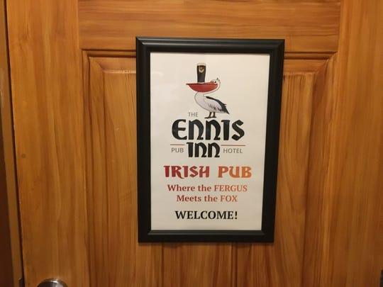 Cafe Chanson has rebranded itself as the Ennis Inn Irish Pub.