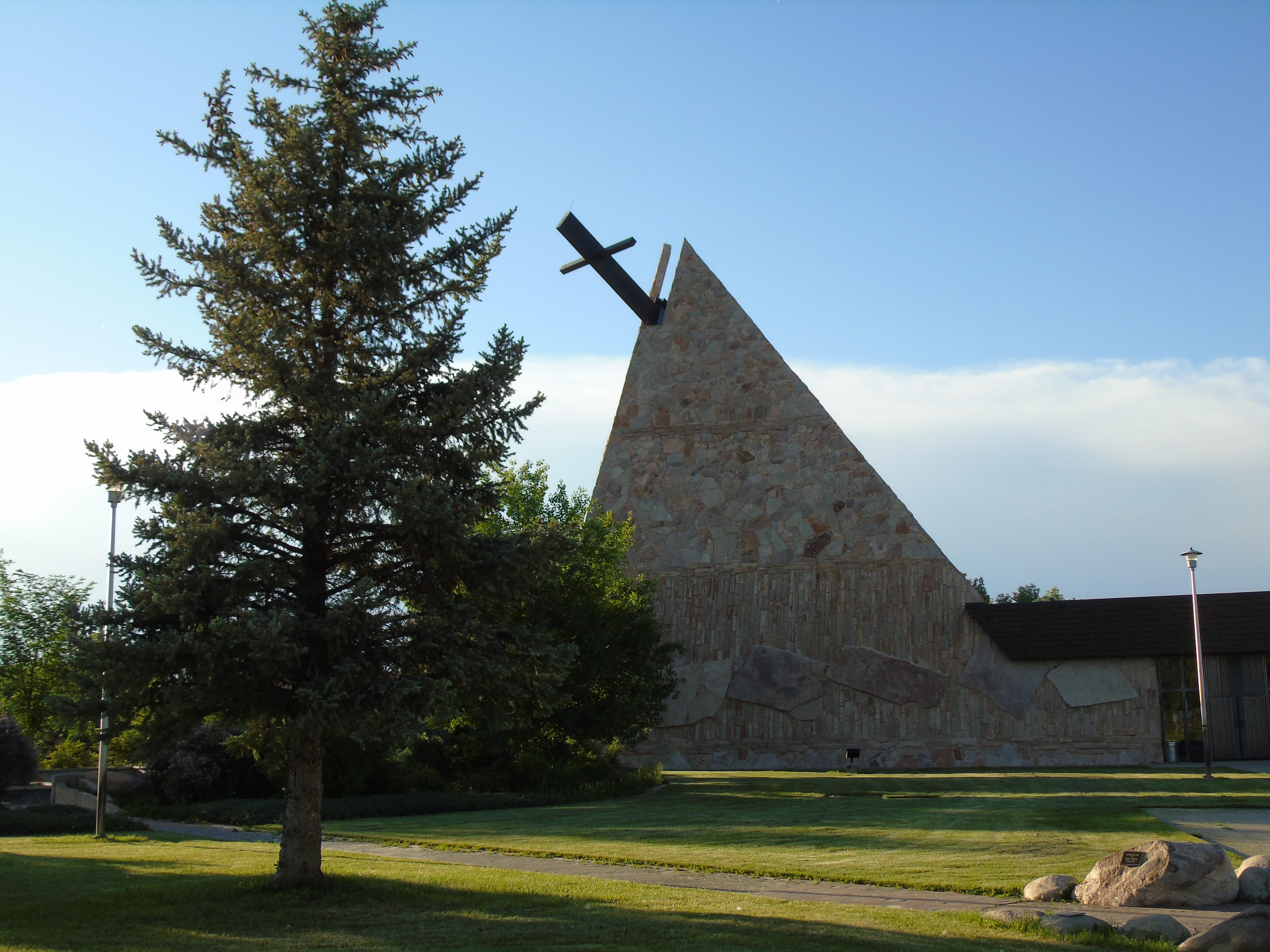 The St. Labre Indian School in Ashland on the Northern Cheyenne Indian Reservation is worth a detour when traveling the Warrior Trail.