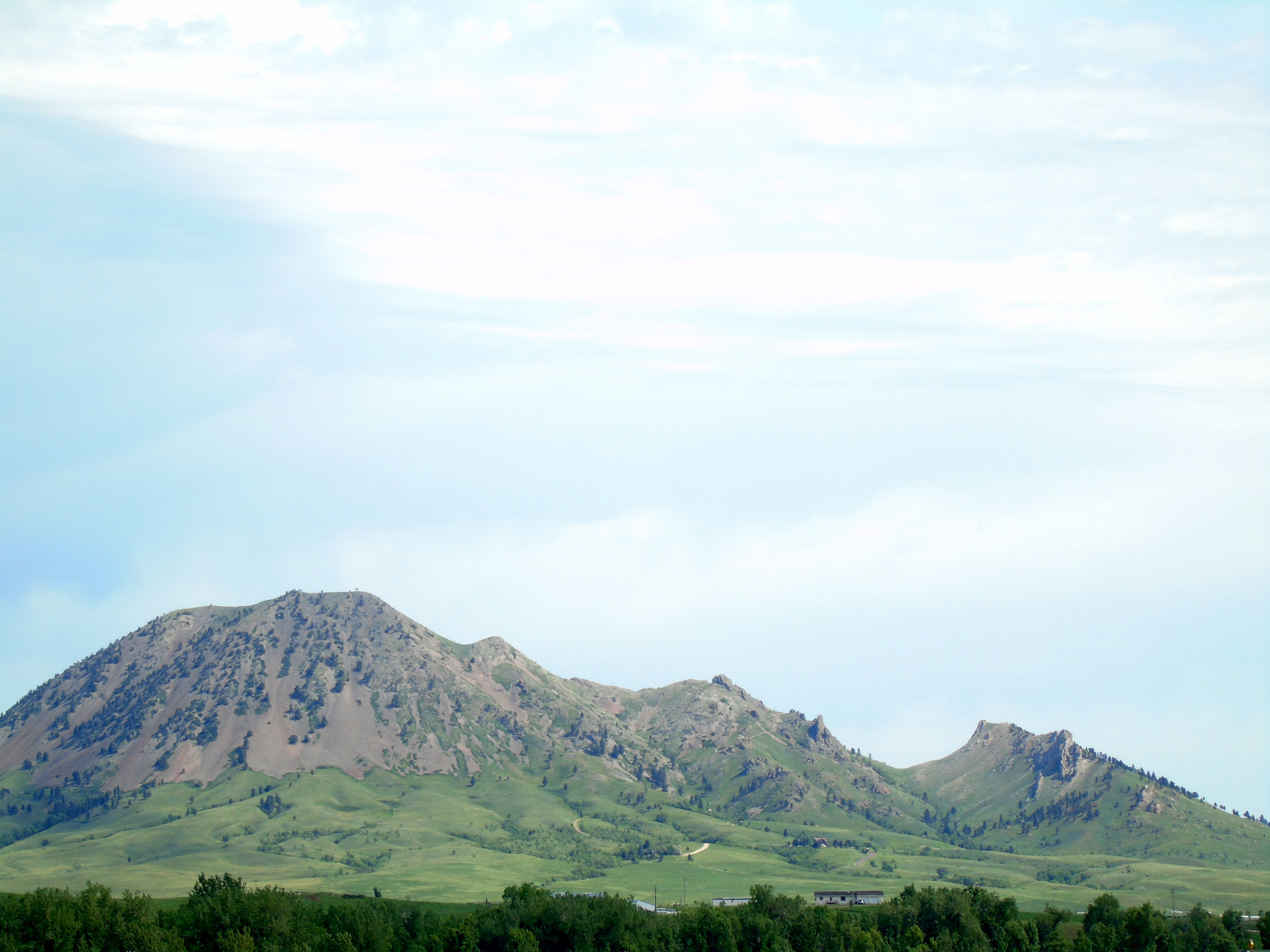 "Bear Butte State Park remains a sacred site to the Lakota, who call it Mato Paha or ""Bear Mountain."" The Black Hills formation still draws worshipers."