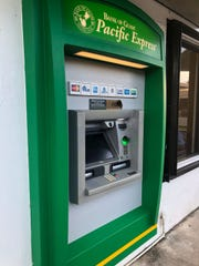 The Bank of Guam ATM at the Agat Subway restaurant is shown in this photo taken on Aug. 6, 2018.
