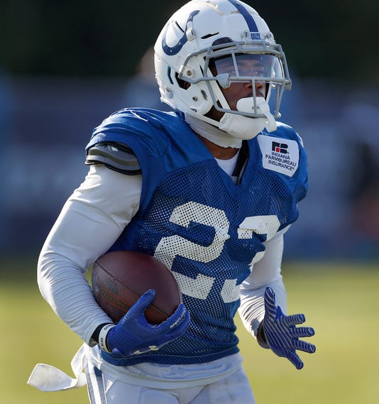 Indianapolis Colts Training Camp At Grand Park In Westfield