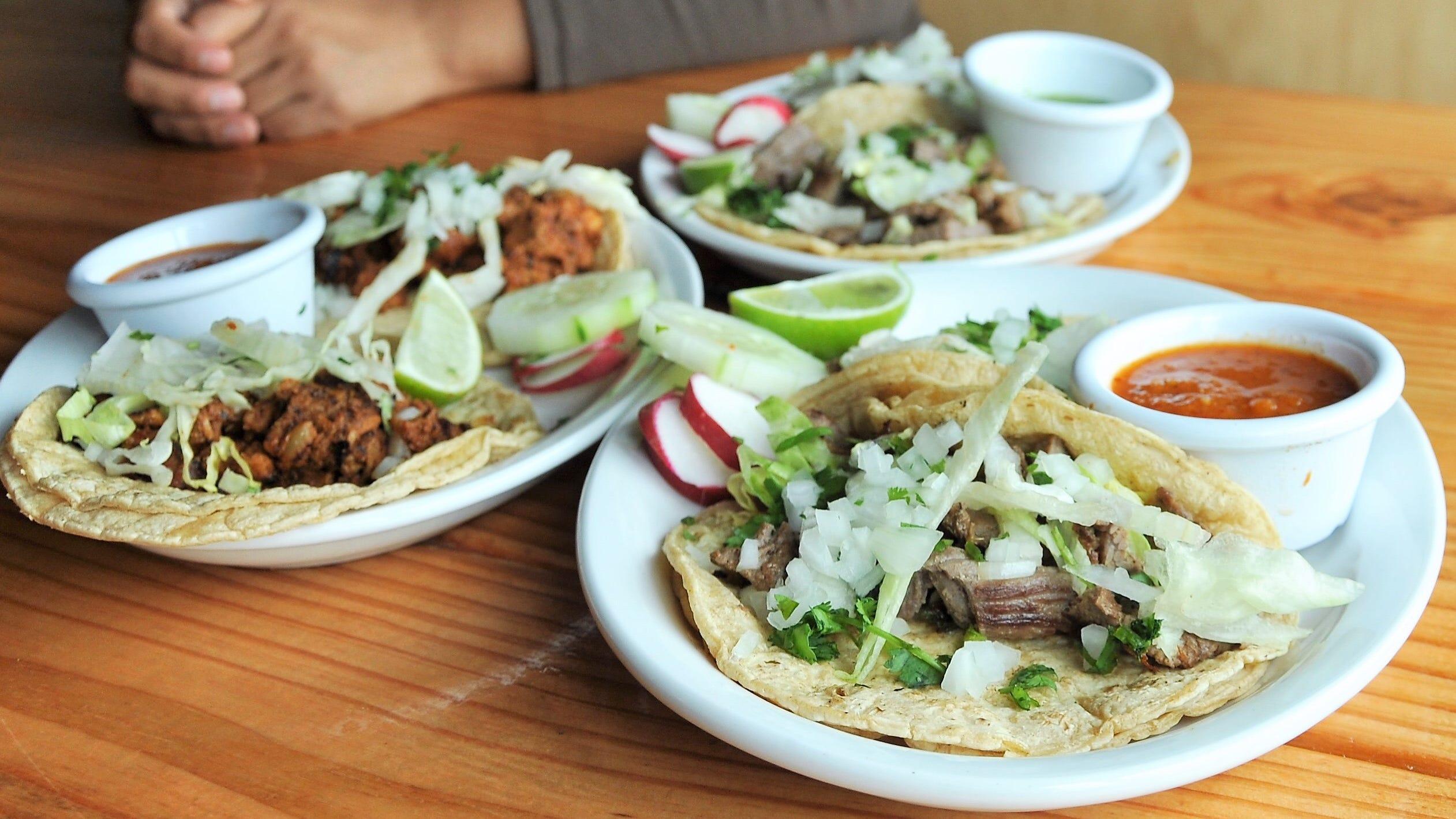 Loren & Mari will serve al pastor, carne asada and shrimp and fish tacos.