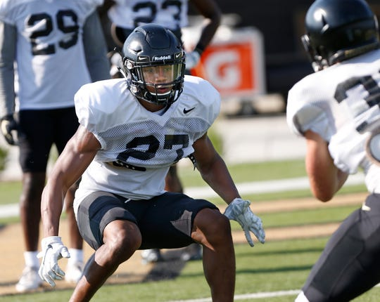 Safety Navon Mosley brings needed experience to the Purdue secondary.