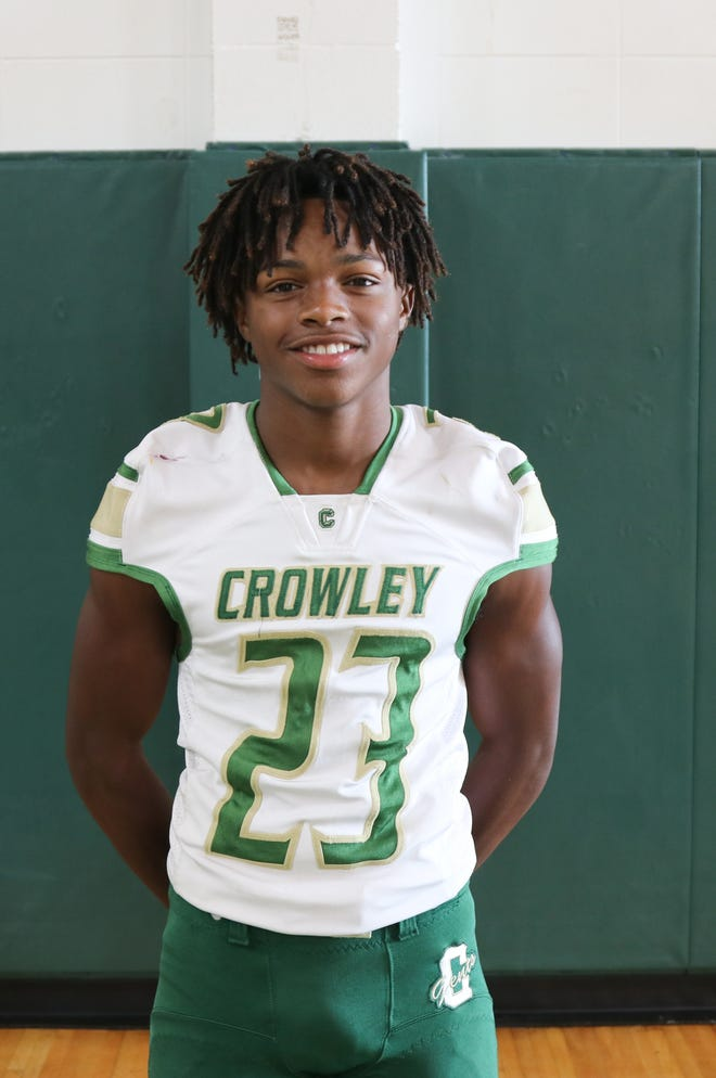 Crowley's Obadiah Butler has posted two 100-yard rushing performances so far.