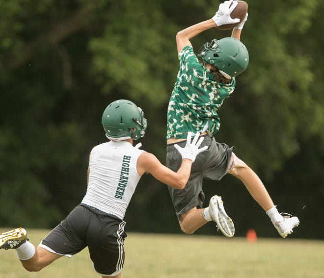 Howell was one of 613 Michigan high school football teams to begin practicing on Monday, Aug. 6, 2018.