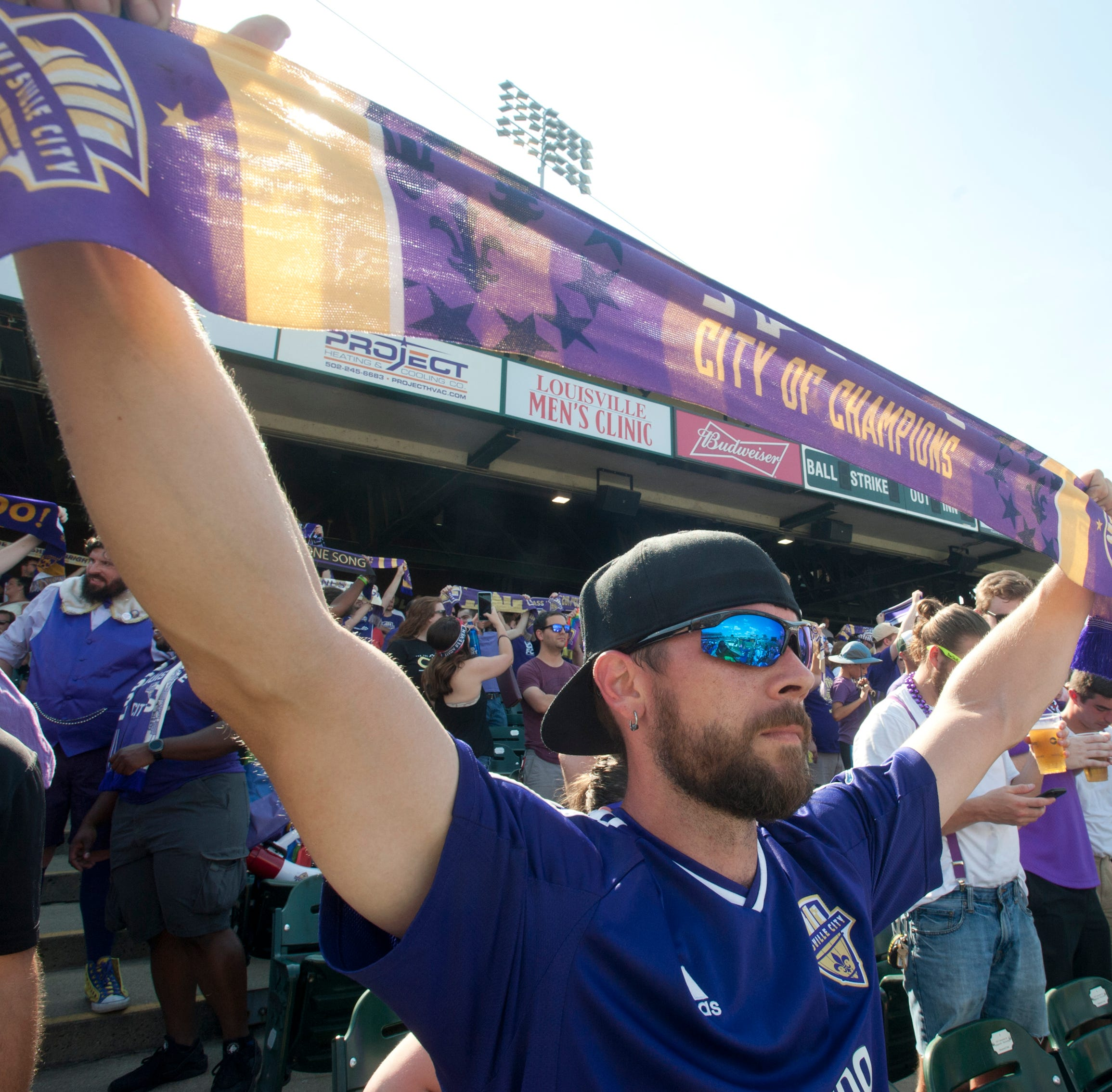 Louisville City FC beats Toronto FC II to make it four in a row