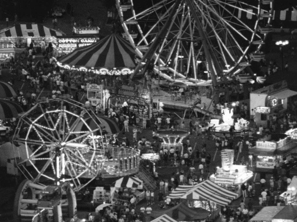 Did you know that there's a cemetery in the middle of the midway at the Kentucky State Fair? Owners of the land purchased for the fairgrounds asked that their family cemetery be maintained. (State Fair, Louisville, Aug. 15-25)