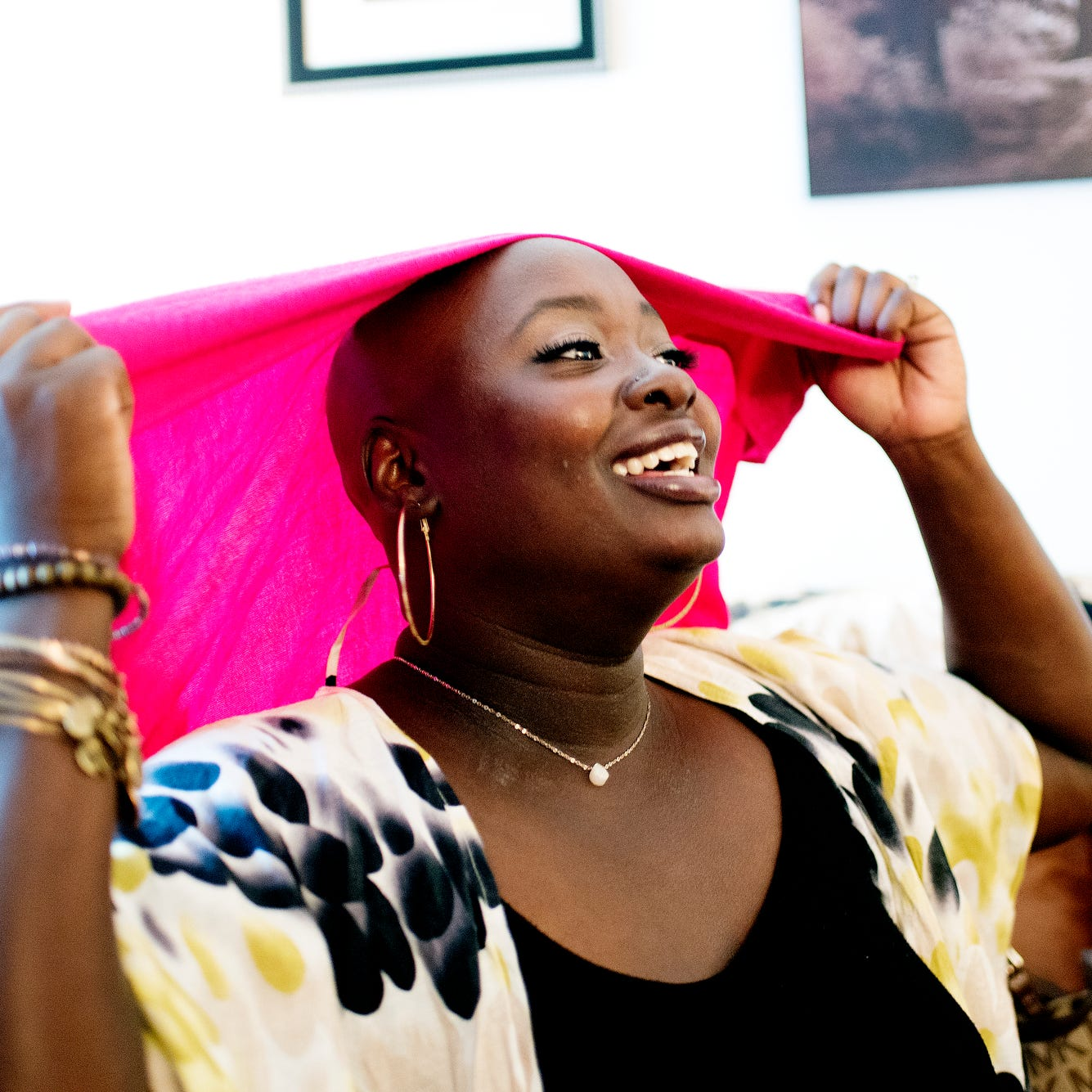 This Lansing woman's consulting business helps women see the beauty in being bald