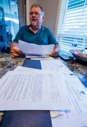 Russell Webster, shown at his home in Montgomery, Ala., on Monday, August 6, 2018, has filed two grievances with his employer, Montgomery Public Schools. He says he has been passed over for promotions, and that each of the three HVAC employees perform the same duties, despite receiving different pay.