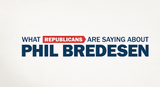 The latest ad from Democrat Phil Bredesen in Tennessee's U.S. Senate race uses the words of Republicans.
