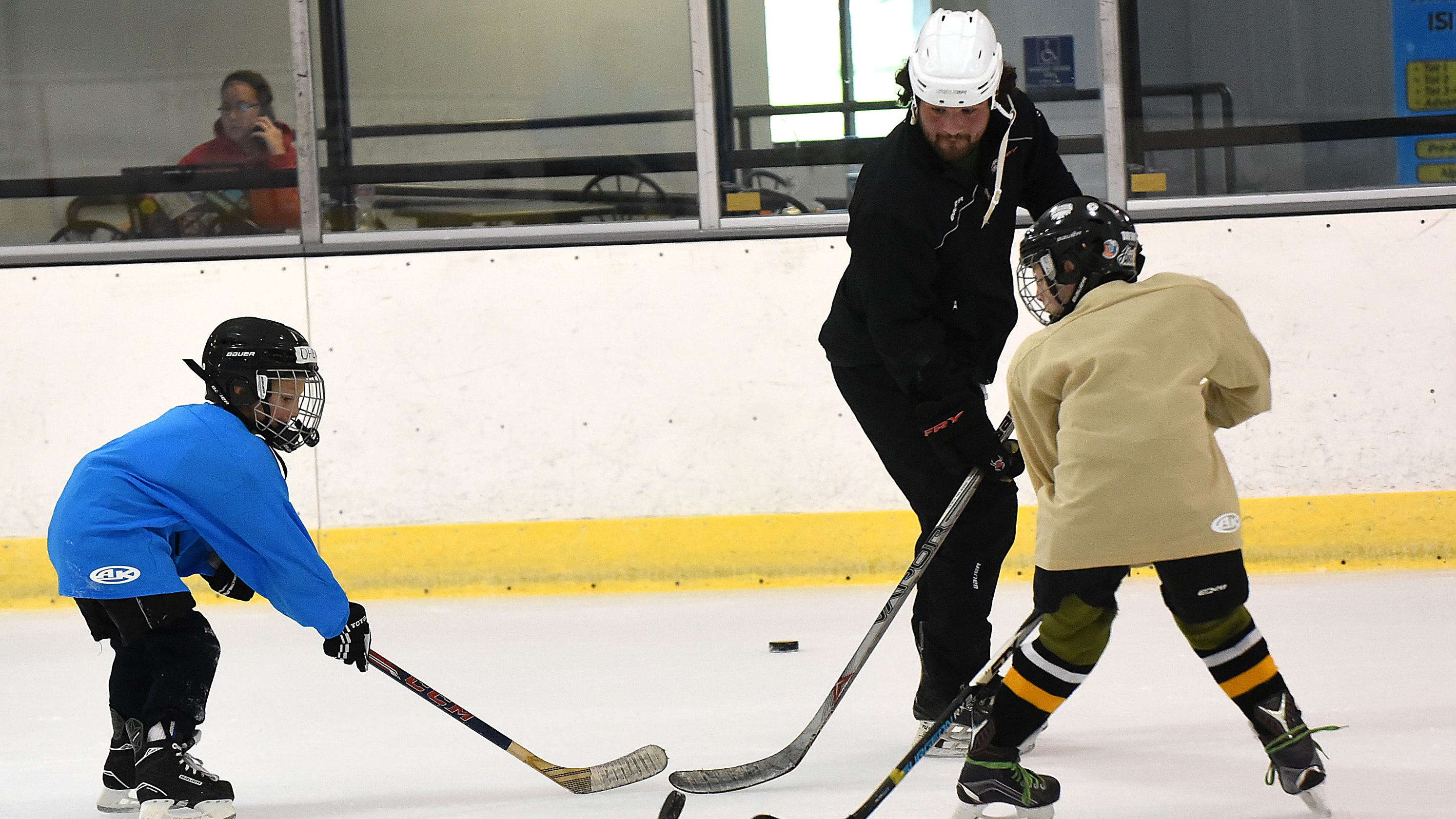 Reese Ice Arena Cools Down Hot Summer Days