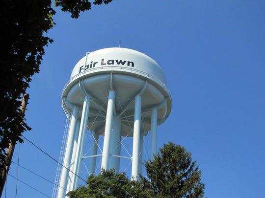 Fair Lawn water tank