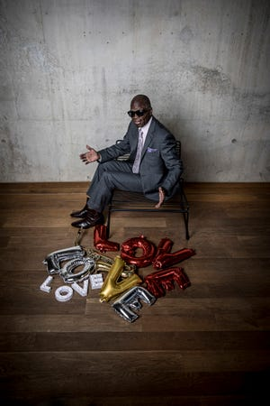Maceo Parker will mix funk music with a message of love when he and his band play the Newton Theatre on Friday, August 10.  Parker first made an impact by playing saxophone with James Brown in the 1960s.