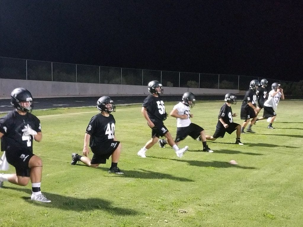 """Oñate hosted """"MidKnight Madness"""" for the second year in a row, beginning official practice Monday at 12:01 a.m."""