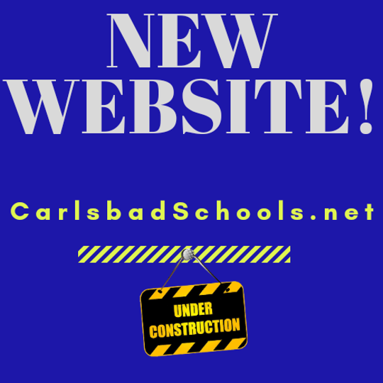 Carlsbad Municipal schools has a new website.