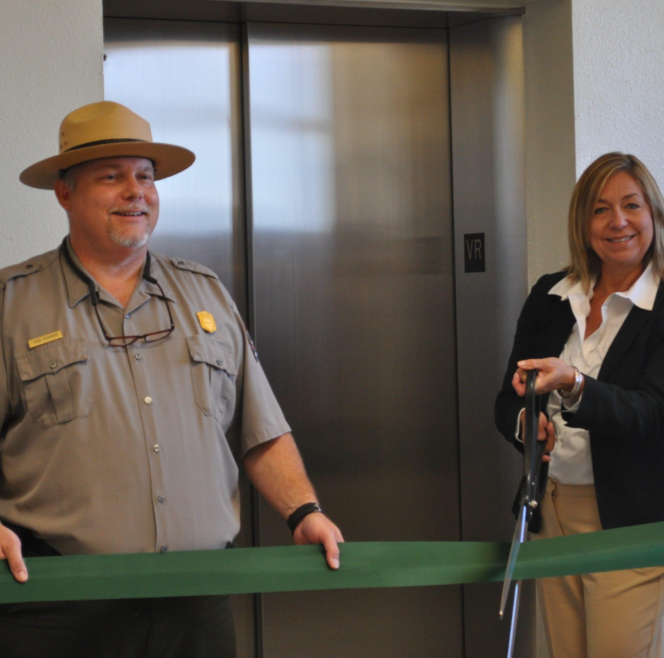 NPS celebrates completion of Carlsbad Caverns elevator project