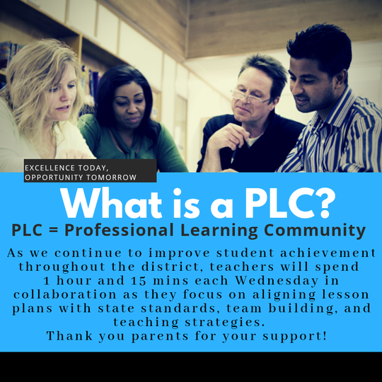 PLC communities in Carlsbad Municipal Schools.