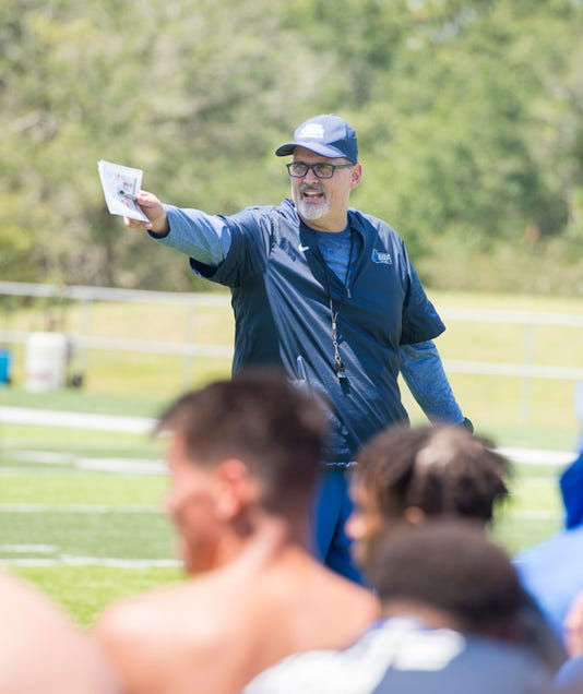 Uwf First Football Practice
