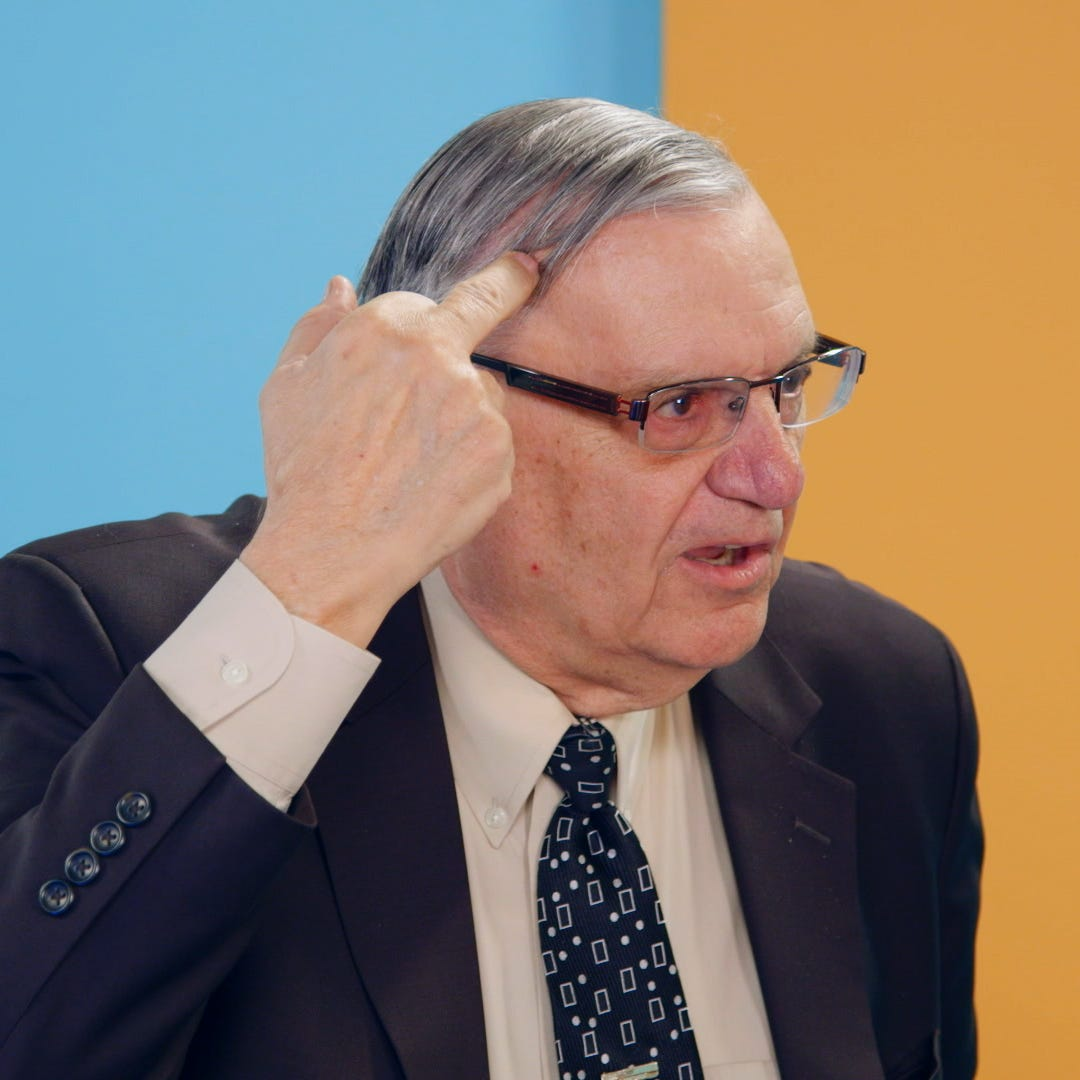 Is it time to start feeling sorry for Joe Arpaio?