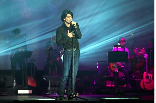 Víctor García en una de sus conciertos.