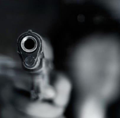 image of semiautomatic gun