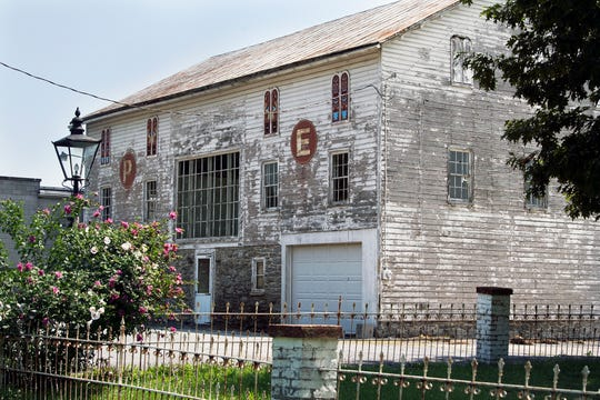 This barn from the 1800s will be the new home of American Daydream Antiques & Miscellanea. It fronts East Market Street.