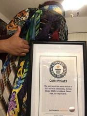 Jeremy Munoz received his certificate in July.