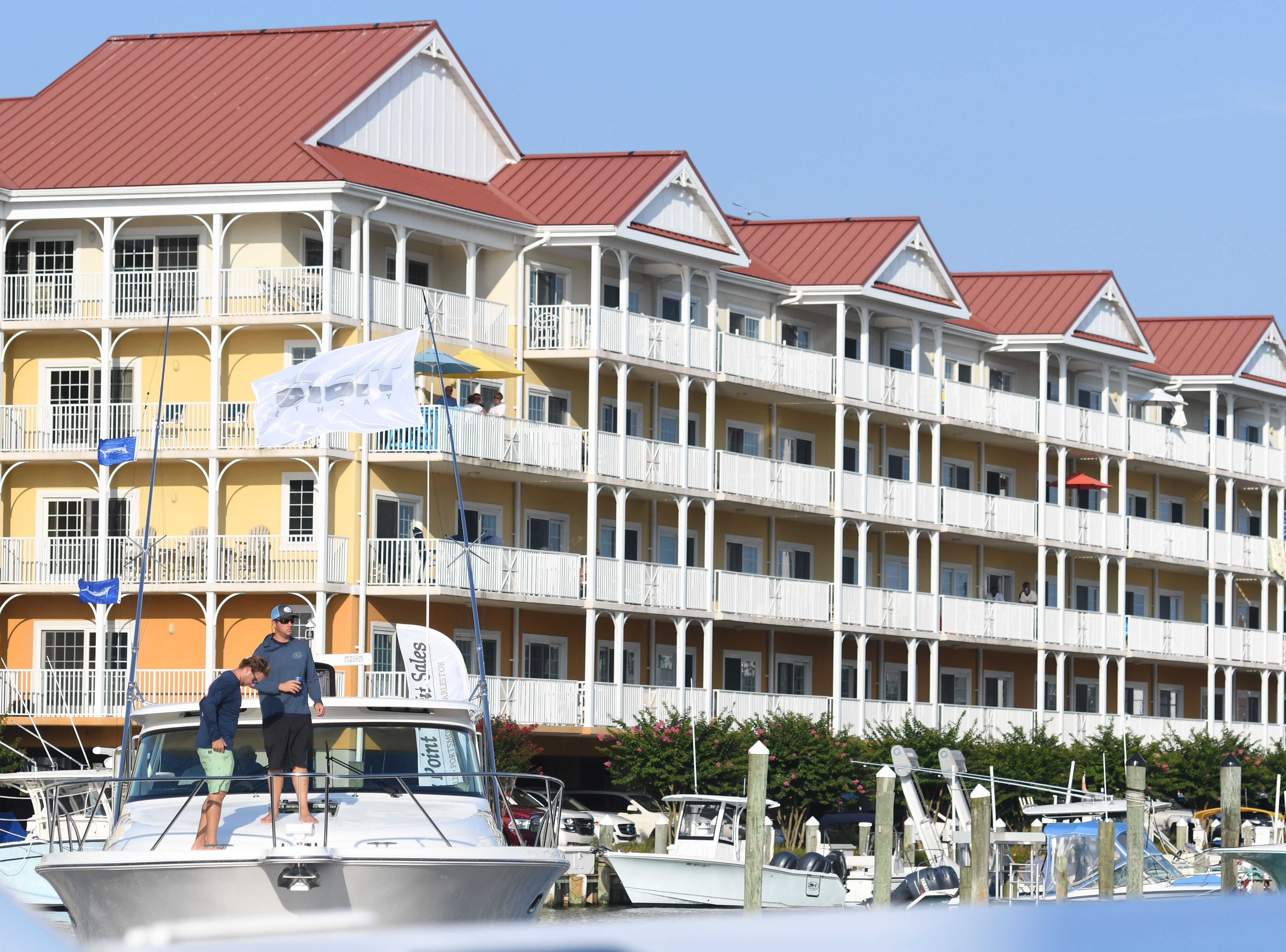 The first day of the 45th Annual White Marlin Open in Ocean City, Md. on  Monday, August 6, 2018.