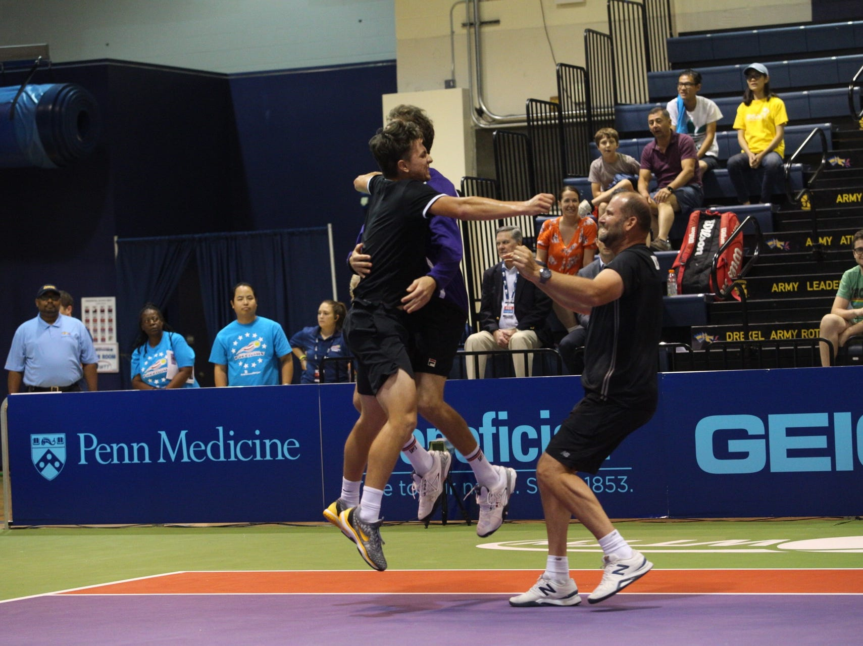 The Springfield Lasers won the World Team Tennis championship final in Philadelphia.