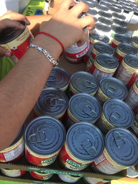 The Utah Food Bank provides the food for clients of The Learning Center for Families.
