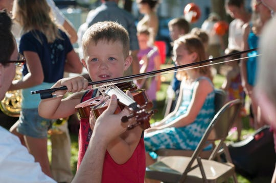 The Space Coast Symphony Orchestra lets kids and adults become familiar with and play various orchestra instruments.