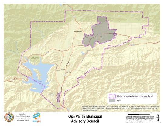 Ojai Valley dark sky