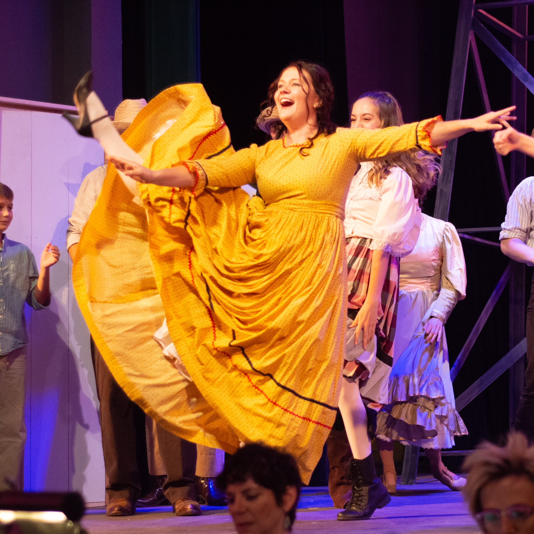 On stage: 'West Side Story,' High Street Broadcast, George Christie, Jo Koy