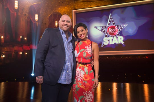 Winners Christian Petroni and Jess Tom, as seen on Food Network Star, Season 14.