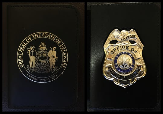 Davies purchased law-enforcement style badges for the office for $1,705, but verbally directed staff not to order one for Wagner or let him know she bought them, the Grant Thornton report said.