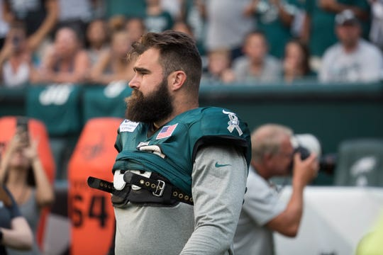 Jason Kelce has been the Eagles' starter at center ever since he was a sixth-round draft pick in 2011.