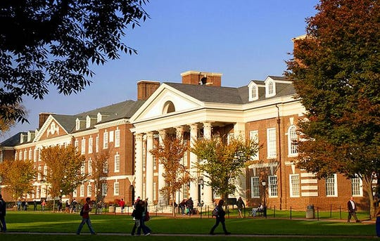 University of Delaware's campus in Newark.
