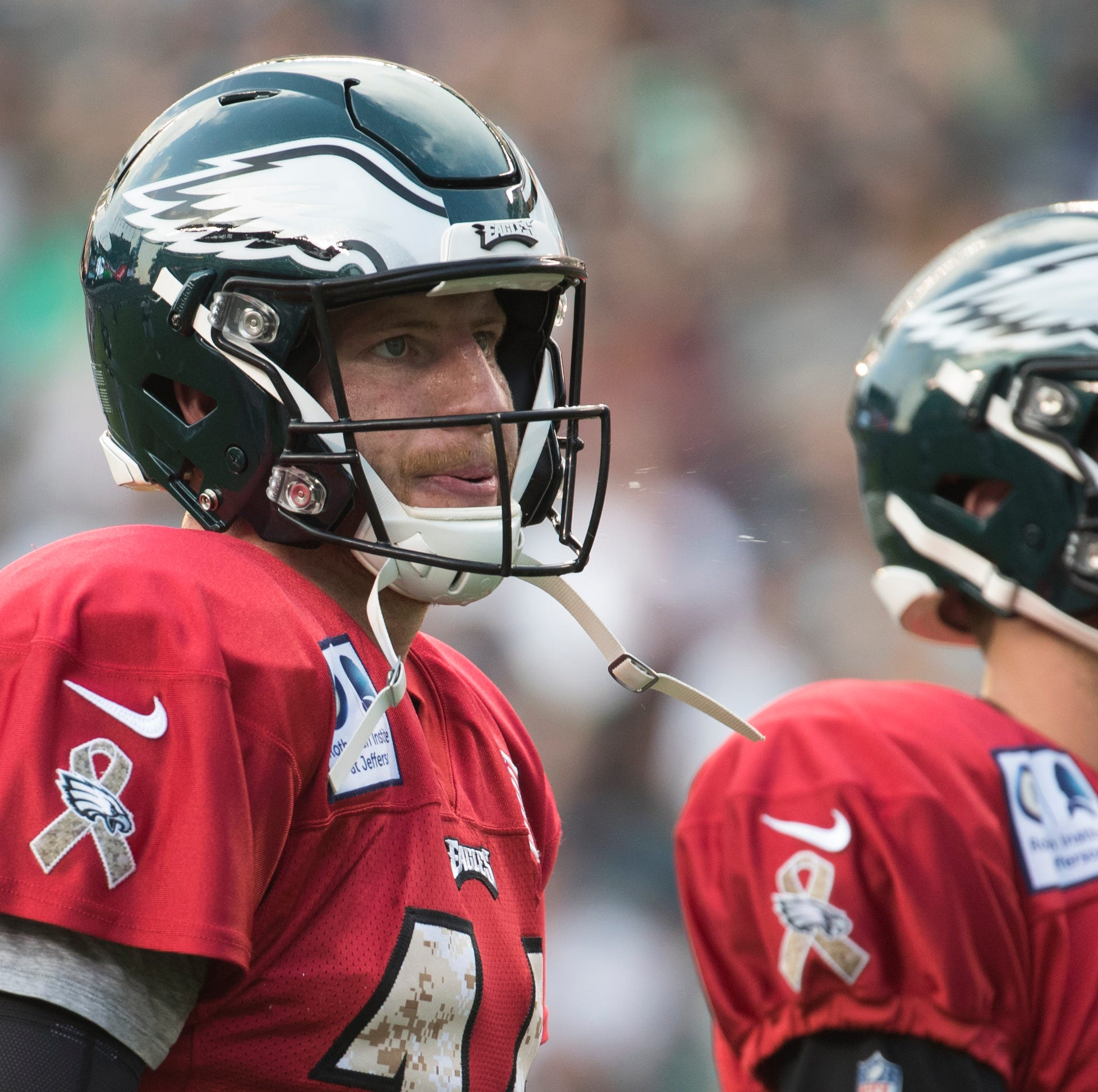 Carson Wentz returns to 11-on-11 drills, and what that means for Eagles' opener