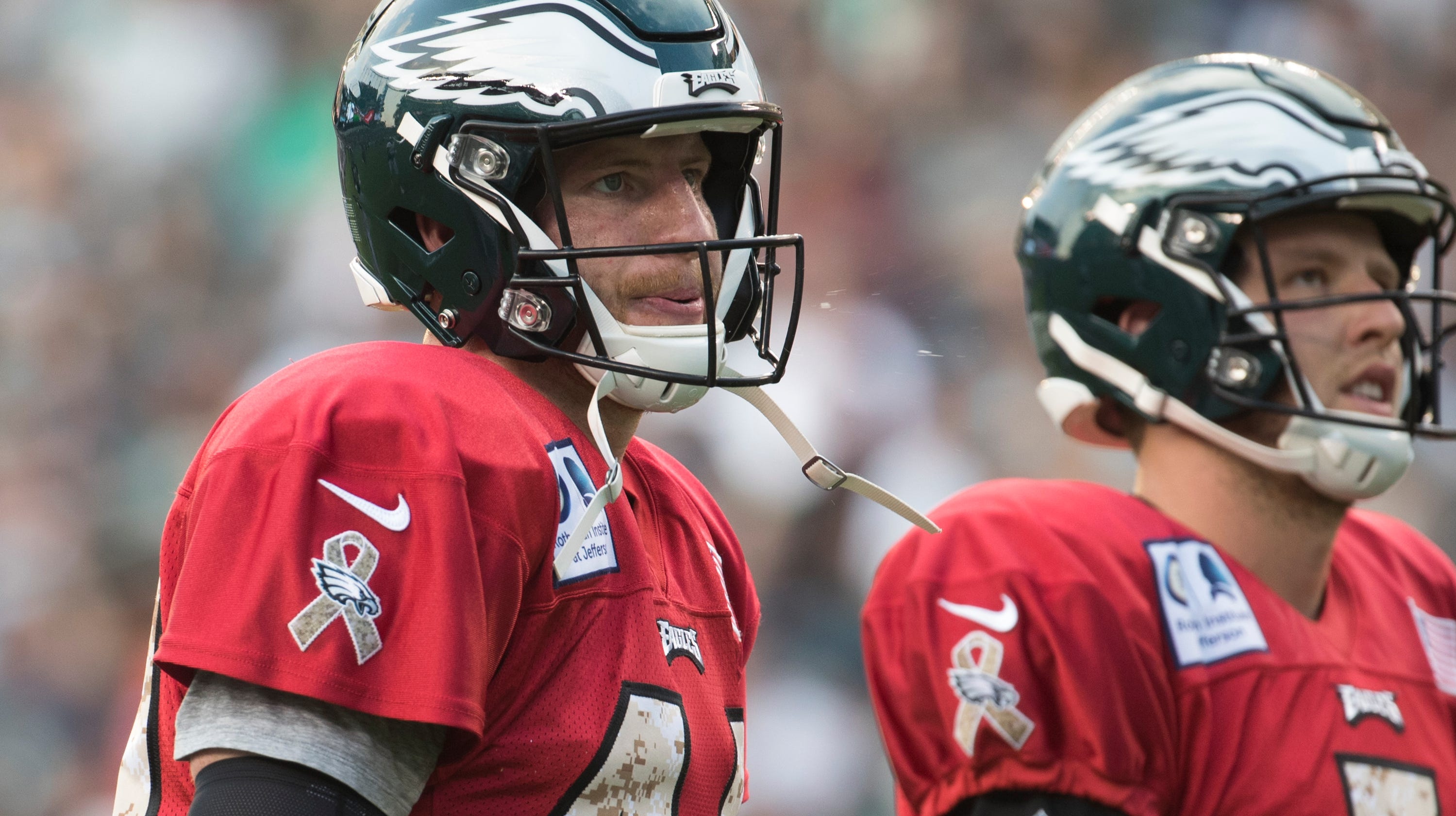 e6436c0dc90 Carson Wentz returns to 11-on-11 drills, and what that means for Eagles'  opener