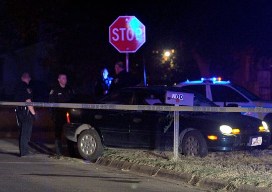 Police investigate a shooting on Wichita Falls' east side. The person was found with a possible gunshot wound to the chest in the 700 block of Bonner Street around 9 p.m.