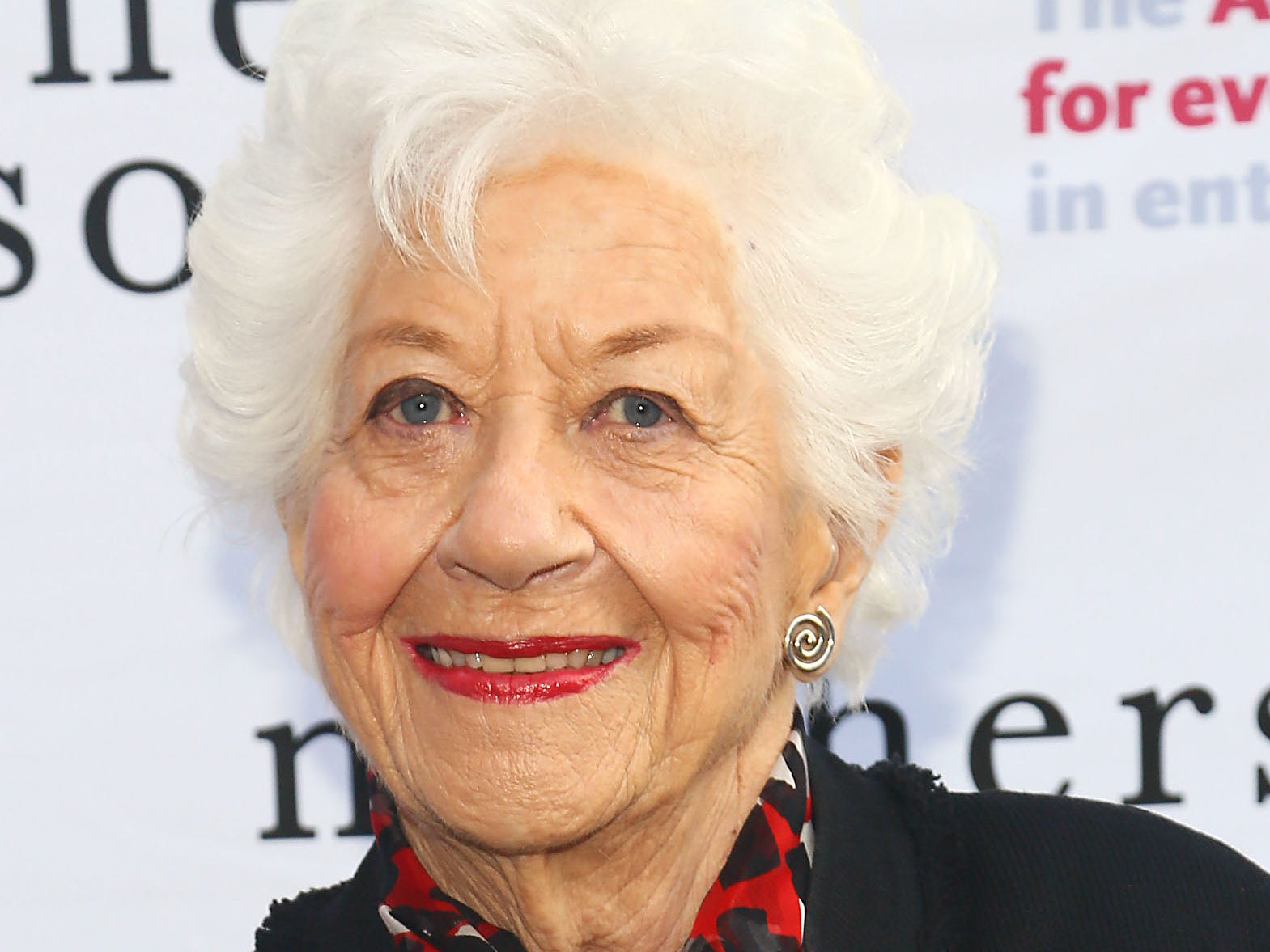 "Charlotte Rae attends the ""Mothers And Sons"" special performance benefiting The Actors Fund at John Golden Theatre on May 18, 2014, in New York."