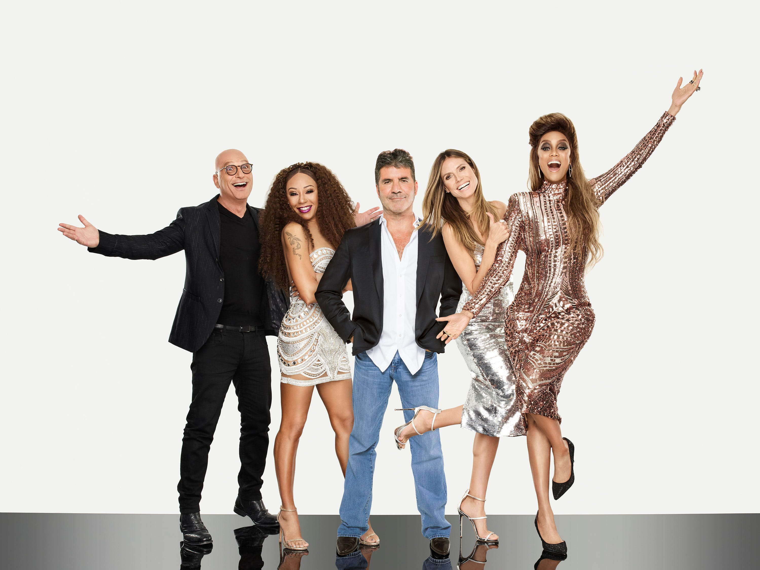 The America's Got Talent crew (from left, Howie Mandel, Mel B, Heidi Klum and Tyra Banks) have finally narrowed down their picks. Who has made it through so far?