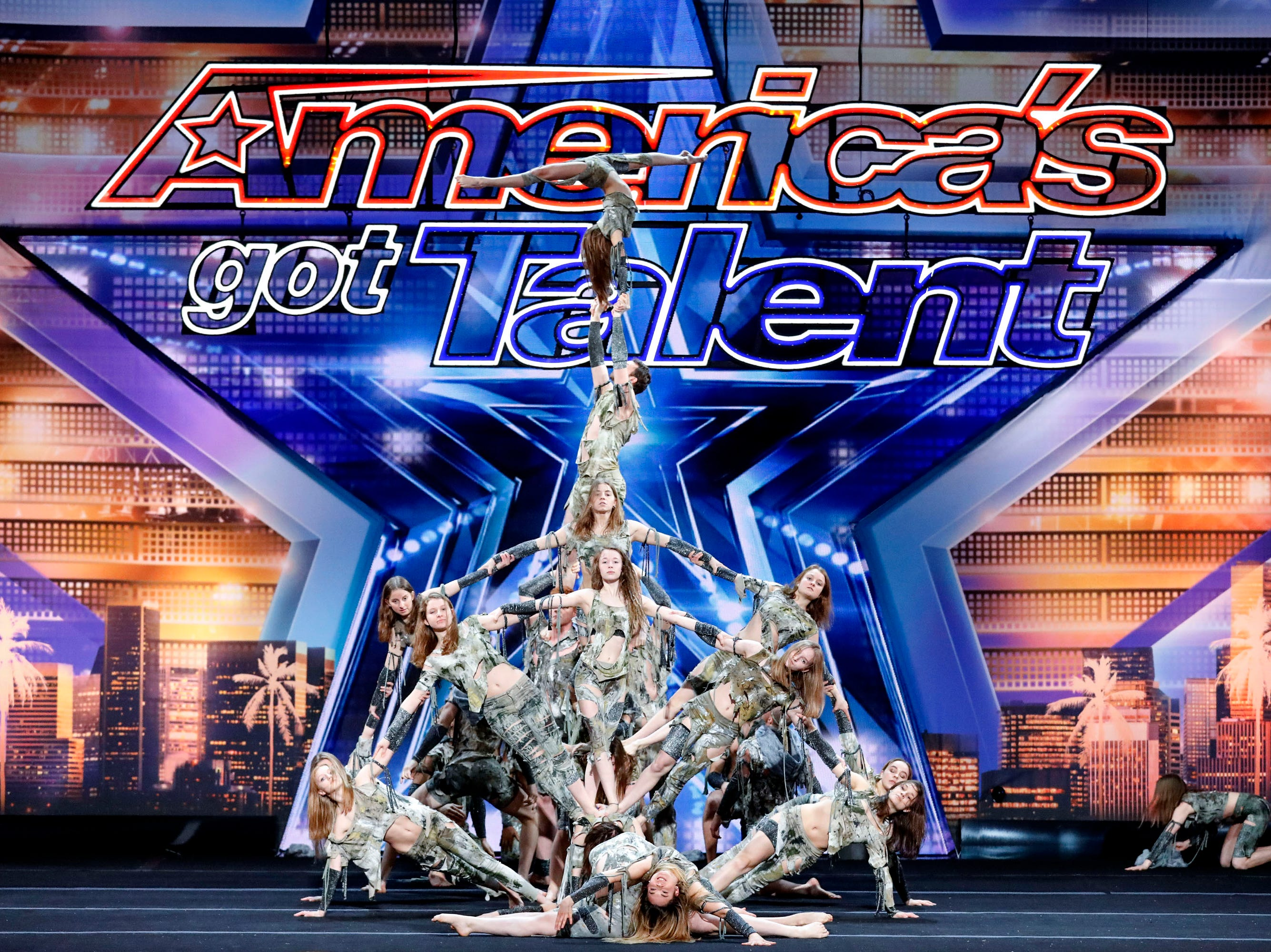 Acrobatic team Zurcaroh earned Tyra Banks's Golden Buzzer