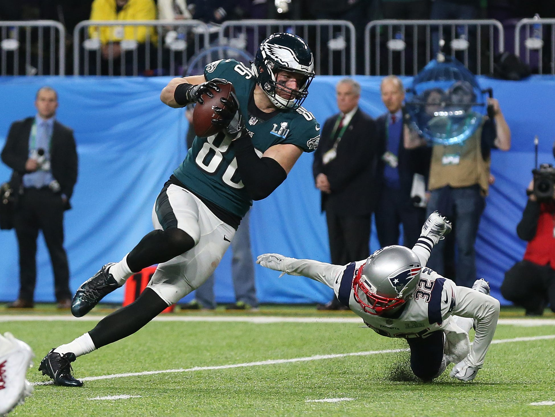 No. 38: Zach Ertz, TE, Eagles